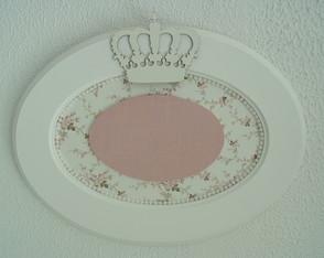 (MA 0195) Quadro oval princesa