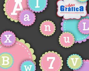 Alfabetos Coloridos - 127