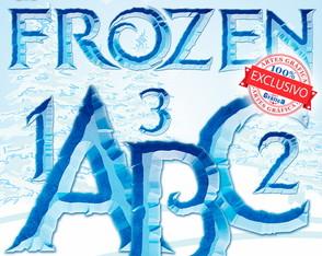 Frozen Letras Digital AlfaNumérico 065B