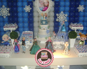 Decora��o Clean Frozen