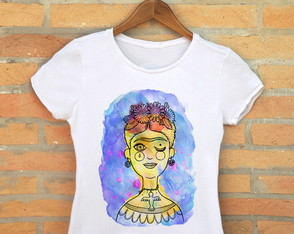 Frida M�stica Camiseta