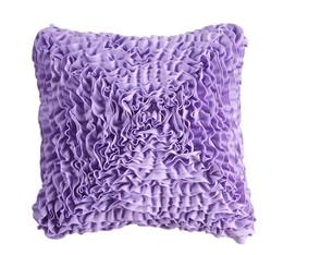 Almofada quadrada de fru fru