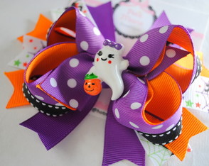 La�o de boutique Fantasminha - Halloween