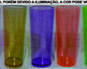 Long drink 300ml COM Gliter 50 unidades