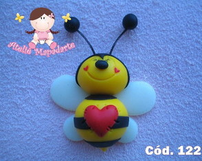 C�d. 122 Molde de abelha balofa