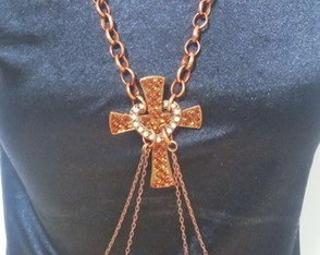 Body Chain Cruz Strass