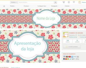 kit para loja elo7 Primavera