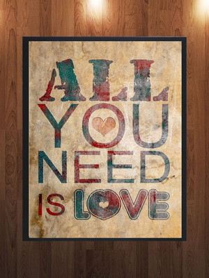 Quadro - All you need is love
