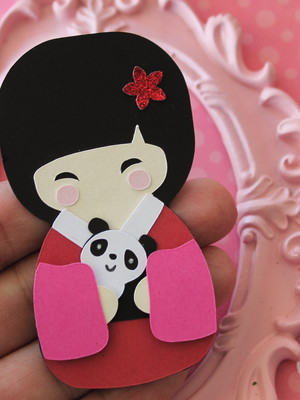 Kokeshi Loves Panda (A18)