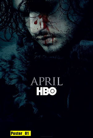 POSTER 30X40 - Game Of Thrones - 6ª...