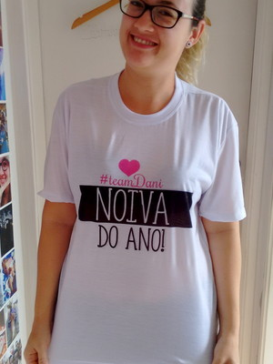 Camiseta Noiva do Ano!