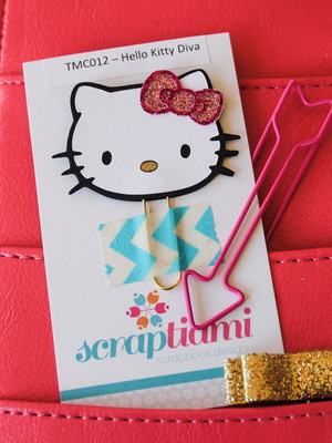 Clips Hello Kitty Diva (TMC012)