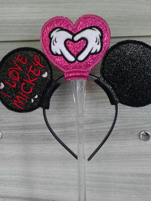 Tiara I love Mickey - Headband