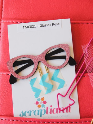 Clips Glasses Rose (TMC021)