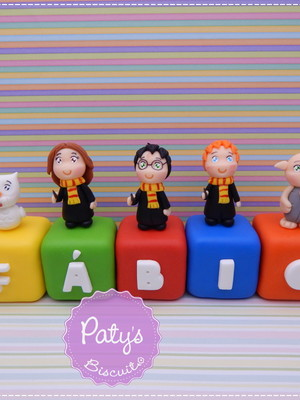 Cubos Decorados Harry Potter