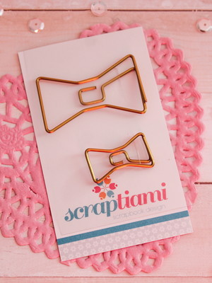 Clips Gold Bows (TMC024)