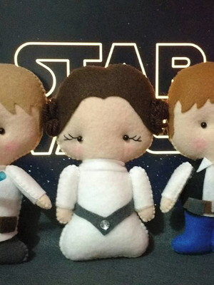Personagem Star Wars Pocket