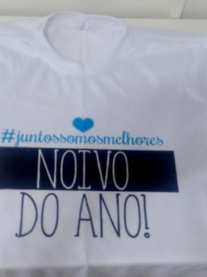 Camiseta Noivo do Ano!