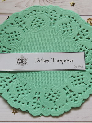 Doilies Turquoise (A393)
