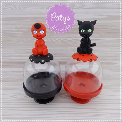 Mini Cúpulas decoradas Miraculous (Ladybug)