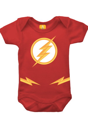 Body para bebê - The Flash