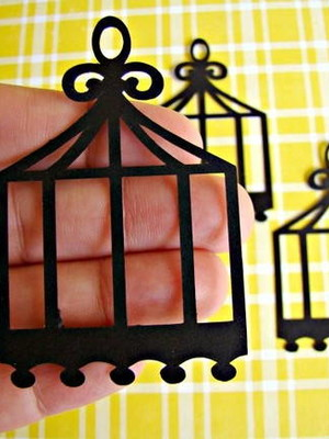 Little Birdcage Black (A296)