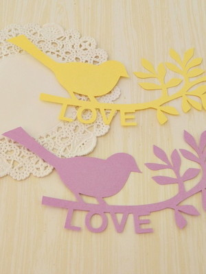 Bird In Love Candy (A35)