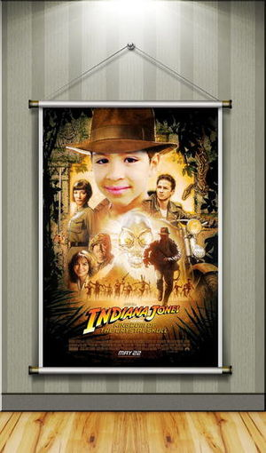 BANNER TEMÁTICO -  INDIANA JONES