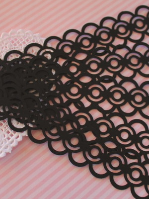 Borders Chain Black (A90)