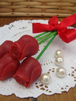 Buquê mini rosas