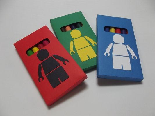 Caixa Giz de Cera- Lego