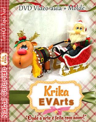 DVD Trenó Papai Noel
