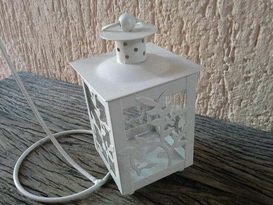 Lanterna Metal para Vela