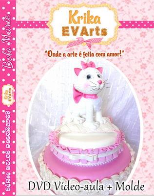 DVD Bolo Decorado Marie