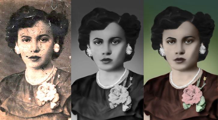 Restauração e Edição de Fotos