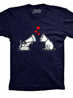 Camiseta Dog Love Gramofone
