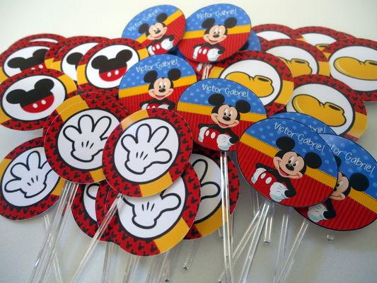 Topper para Docinhos Mickey