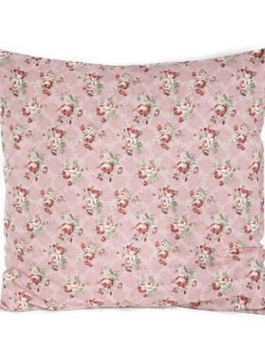 Capa de almofada - Floral rosa
