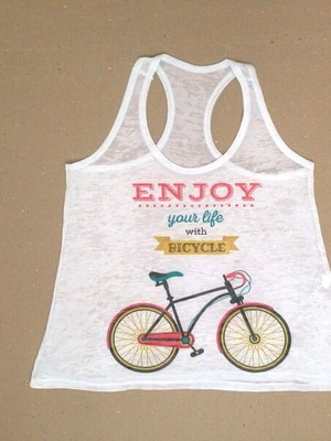 Camiseta Regata - Bicicleta Bike
