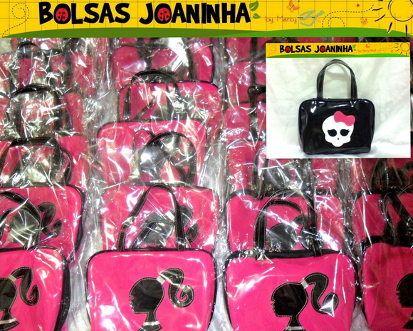 BARBIE, MONSTER HIGH BOLSAS (CADA)