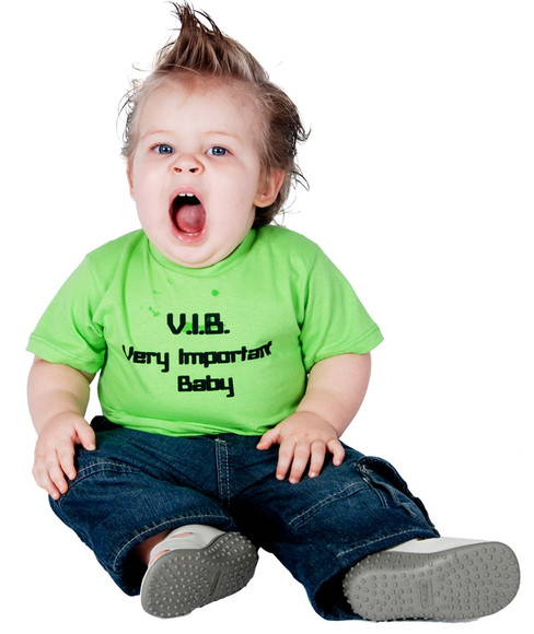 T-Shirt Infantil VERY IMPORTANT BABY