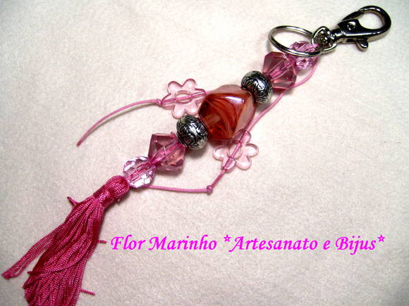 CHAVEIRO MURANO **ROSA**