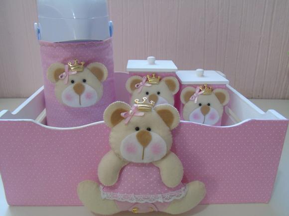Kit Higiene Ursa Princesa Poás