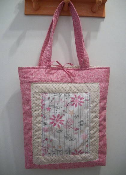 Sacola de Patchwork Princess