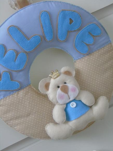 Guirlanda Urso Príncipe