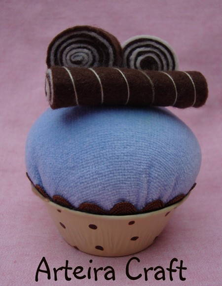 Cupcake Blueberries & Chocolate Ref 003