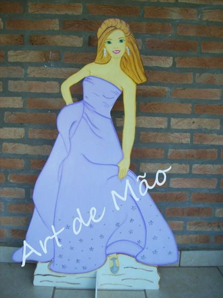 Cenrio - Barbie - mdf