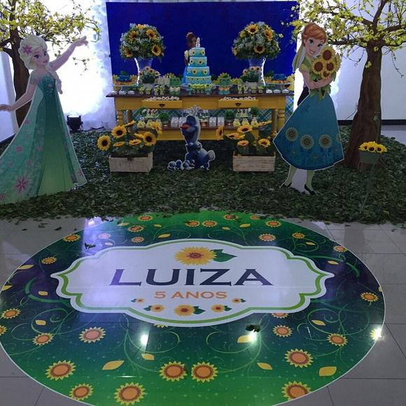 Artesanato Xuxinha De Cabelo ~ Tapete adesivo para pista festa infantil Cupcake Festas e Decorações Elo7