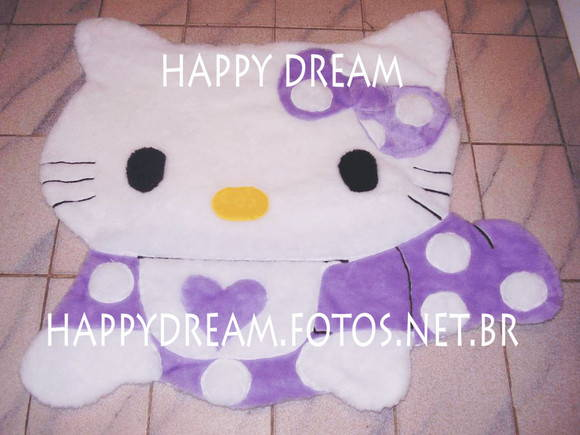 Tapete Hello Kitty Happy Dream Elo7 ~ Tapetes Quarto Hello Kitty