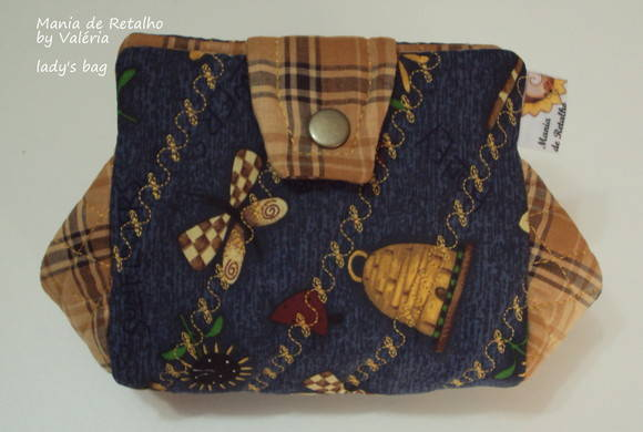 Lady's Bag by Val�ria (country xadrez)